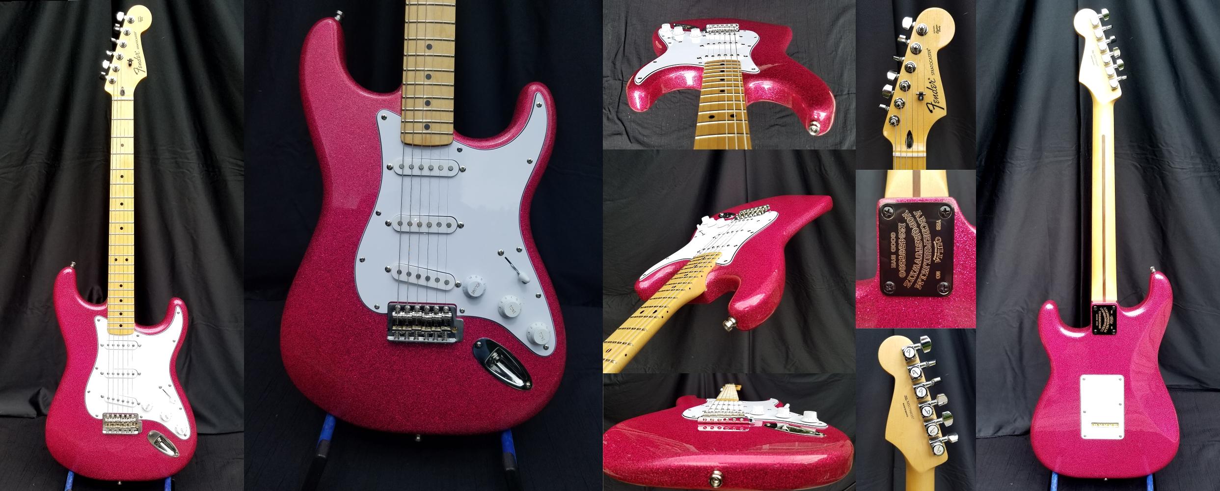 Brad Page's Guitars