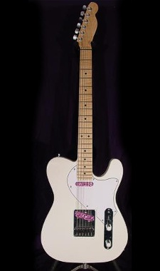 Custom-built Tele-style - click for more photos